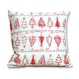 Úžitkový textil - Vankúš Vianočné stromčeky - 7213044_