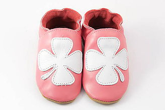 Topánočky - Capačky - Štvorlístky pre šťastie - 7208902_