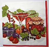 - Servítka P67- Zátišie s ovocím - 7208471_