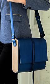 Kabelky - Kabelka na rameno MIDI EXTRA LARGE ROYAL BLUE - 7209746_