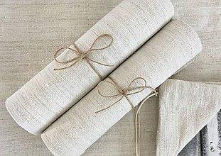 Úžitkový textil - Darčeková súprava NATUR - 7210086_