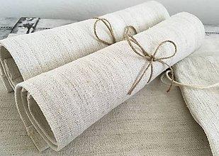 Úžitkový textil - Darčeková súprava NATUR - 7210128_