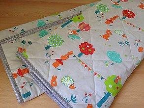 Textil - Malé zvieratká na deke - 7210636_