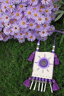 Taštičky - Kapsička na amulety, talizmany VIII - 7212381_