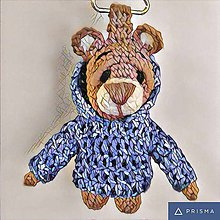 Kľúčenky - Medveďku daj si kapucňu - 7214657_