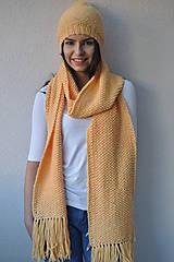 Čiapky - Žltá čiapka - 7214702_