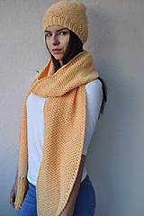 Šály - Žltý maxišál - 7214936_