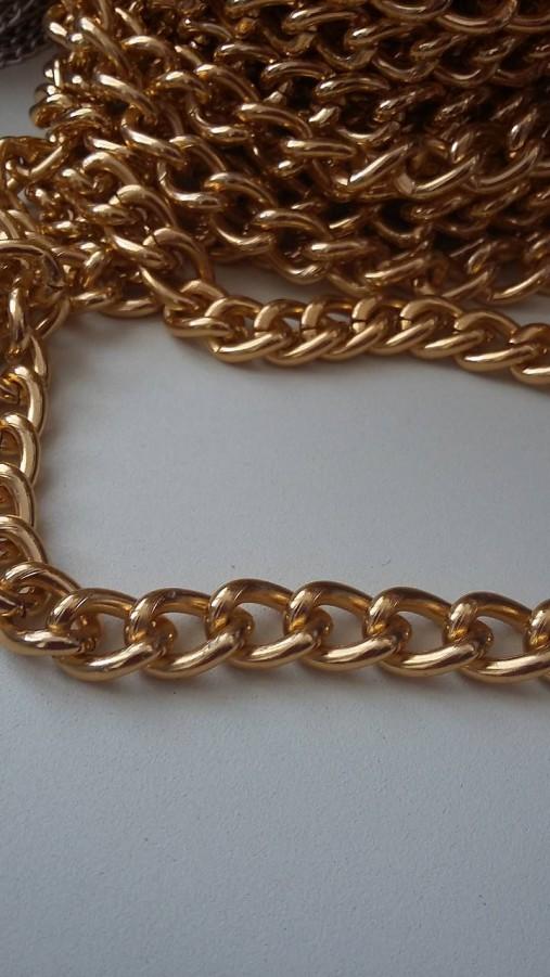 d3623f0b3 Retiazka na kabelky zlatá 12 mm / krajjanka - SAShE.sk - Handmade ...