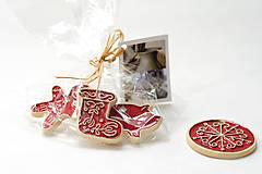 Dekorácie - Keramické vianočné ozdoby - 7213661_
