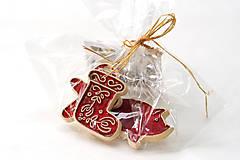 Dekorácie - Keramické vianočné ozdoby - 7213662_