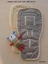 Bugaboo wool podložka 100% MERINO TOP