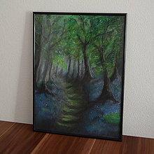 Kresby - Čarovný les - 7214978_