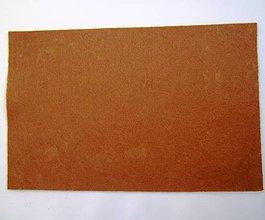 Textil - Filc 2 mm - hnedý - 7213345_