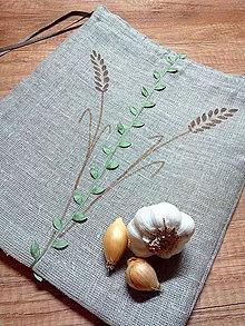 61fdb74e2 Úžitkový textil - Vrecka na chlieb-100% l'an - 7216382_