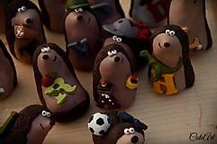 Personalizovaní svadobní ježkovia XL - menovky/darčeky pre hostí