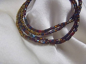 Náhrdelníky - náhrdelník/náramok - 7214566_