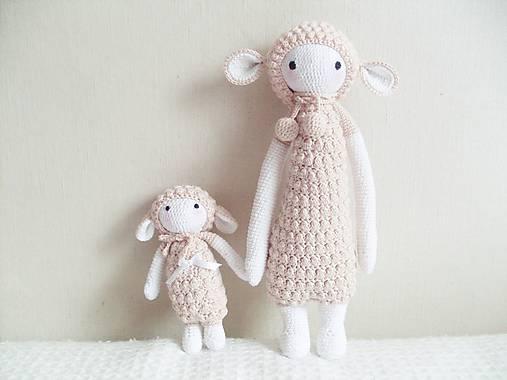 Hračky - malá ovečka (lupo the lamb) - 7215523_
