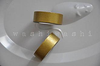 Papier - washi paska zlata bleda - 7220725_