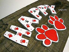 Tabuľky - písmenká pre psíka - 7217509_