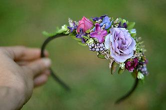 Ozdoby do vlasov - Ráno v záhrade ruží - 7219891_