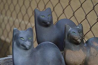 """Dekorácie - Mačky """" jeseň na priedomí ... . """" SET - 7217064_"""