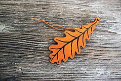 Dekorácie - List jesenný Dub - 7218009_