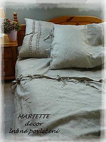 Úžitkový textil - Lněné povlečení MON PLAISIR - 7219296_