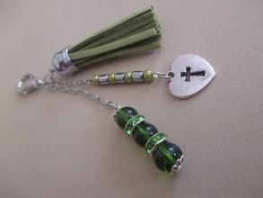 Kľúčenky - Kľúčenka alebo dekorácia na kabelku - 7217461_