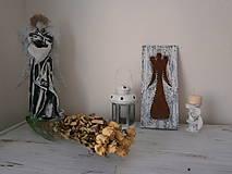 Obrázky - anjel do moderného čierno bieleho bývania... - 7218853_