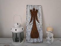Obrázky - anjel do moderného čierno bieleho bývania... - 7218873_