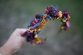 Ozdoby do vlasov - Jesenný polvenček \