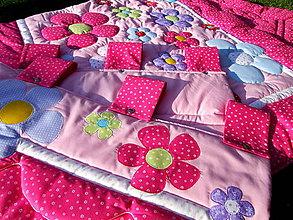 Textil - Prehoz obsypaný kvetmi - 7217043_