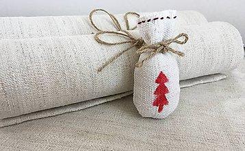Úžitkový textil - Vianočné prestieranie NATUR - 7218670_