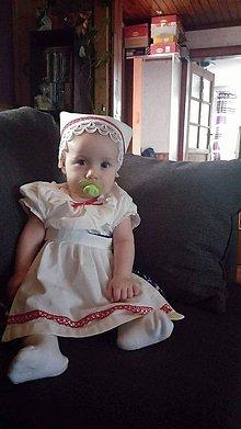Detské súpravy - Detské ľudové oblečenie - 7219409_