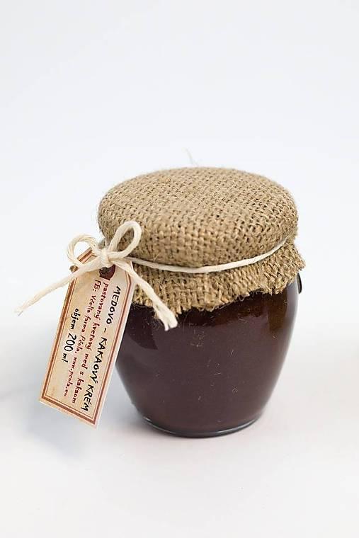 Medovo - kakaový krém (sen)