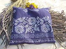 Úžitkový textil - Levanduľový folklór - 7221532_