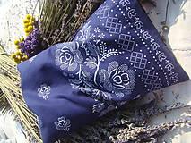 Úžitkový textil - Levanduľový folklórčok - 7221577_