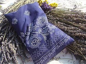 Úžitkový textil - Levanduľový folklórčok - 7221572_