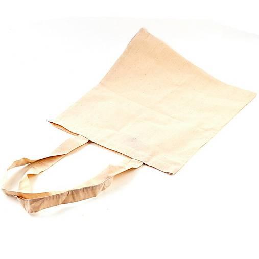 Bavlnená taška s dlhým uchom AKCIA