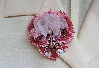Odznaky/Brošne - Brošňa pre svadobnú mamu 2 - 7223349_