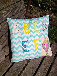 Textil - prvé písmenká - 7221797_