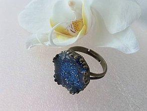 Prstene - Royal blue ring II - 7223365_