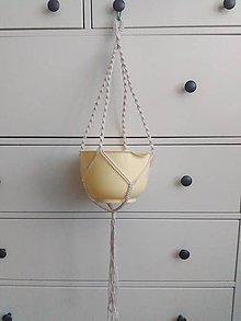 Dekorácie - Macrame zaves pre LauraP - 7221930_
