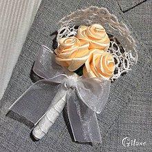 Pierka - Veľké svadobné pierka Romance - 7224134_
