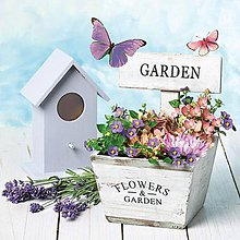 Papier - Servítka Flowers Garden - 7227827_