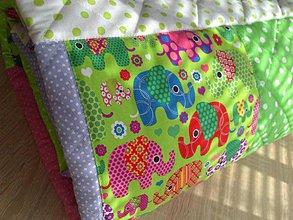 Úžitkový textil - Patchwork deka \
