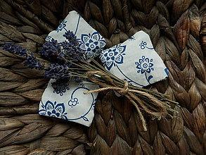 Úžitkový textil - Sada 3ks levanduľových vankúšikov - 7225927_