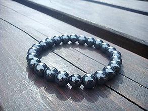 Šperky - Náramok - Hematit - 7224311_