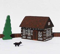 Hračky - Drevenica z Čičmian(vypredané - znovu v predaji od januára) - 7227789_