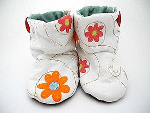 Topánočky - Teplé papučky - 7226674_